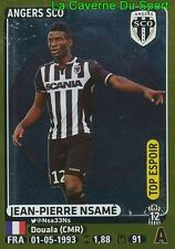 043 JEAN-PIERRE NSAME # CAMEROON TOP ESPOIR SCO.ANGERS STICKER PANINI FOOT 2016