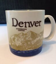 2009 Starbucks Denver Global Icon Series Collectors Coffee Mug