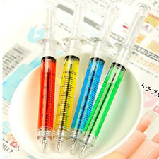 Popular 4Pcs Doctor Nurse Gift Liquid Syringe Injection Ballpoint Pen Ballpen CN