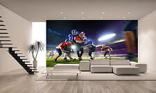 American Football Players   Wall Mural Photo Wallpaper GIANT WALL DEC