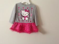 NWT 6M 2Pcs Cotton Blend Hello Kitty Dress Short Set By Sanrio MSRzp $ 30.00,