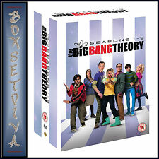THE BIG BANG THEORY - COMPLETE SEASONS 1 2 3 4 5 6 7 8 & 9   *BRAND NEW DVD**