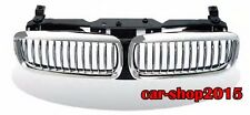 Front Kidney Grille Grill Chrome & Black for BMW E65 02-05 7-Series 745i 745Li