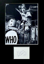 KEITH MOON signed autograph PHOTO DISPLAY The Who sixties Quadrophenia Tommy