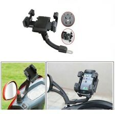 Flexible Cycle Bike Mobile Phone Holder Motorcycle Rear View Mirror GPS Mount
