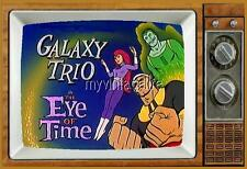 "THE GALAXY TRIO TV Fridge MAGNET  2"" x 3"" art SATURDAY MORNING CARTOONS"