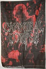 "Cannibal Corpse Corpsebringer Blood Skull 29""X43""  Cloth Fabric Poster Flag-New"