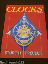 CLOCKS - STUDENT PROJECT - FEB 1982