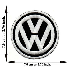 Volkswagen Rider Racing Motor Car Van Bus VW V02 Logo Applique Iron on Patch Sew