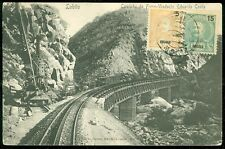 ANGRA : 1910 Picture Post Card to USA.Tiny tear at right.