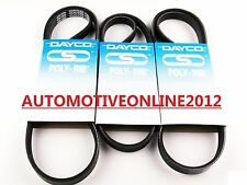 DAYCO TOYOTA LANDCRUISER PRADO FAN BELT KIT SUITS KZJ95R,120R 3.0L 1KZ-TE DIESEL