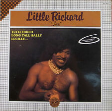 "LP 12"" 30cms: Little Richard: live, score D3"