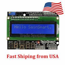 SainSmart 1602 LCD Keypad Shield for Arduino Duemilanove UNO MEGA2560 US STOCK