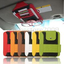 Car Sun Visor Point Pocket Organizer Pouch Bag Card Pen Glasses Storage Holder