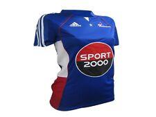 ADIDAS : Maillot Collector Equipe France Handball féminin  bleu  T :  44  neuf