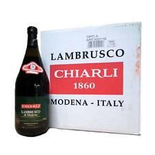 LAMBRUSCO Chiarli di Modena dolce Vino rosso Cartone - 6 x 1,5 Litro dolce bella