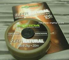 Korda Super Natural Braid - Gravel Brown 18lb