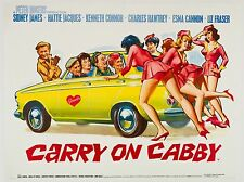 "Carry on Cabby 16"" x 12"" Reproduction Movie Poster Photograph 2"