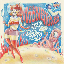 "THE MOONSTONES Eres El Diablo 7"" . garage staggers satelliters fuzztones lyres"