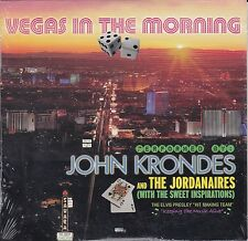 JOHN KRONDES Vegas In The Morning CD Jordanaires ELVIS PRESLEY cardboard P.Evans