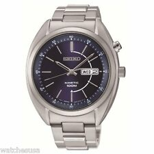 Seiko Men's Stainless Steel Kinetic Watch SMY121