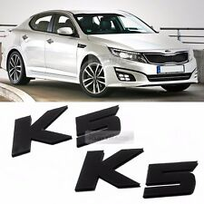 Side Front Trunk Mini Emblem Point Logo Badge Black for KIA 2011-2015 K5 Optima