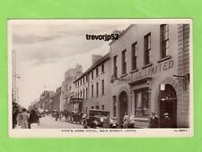 King's Arms Hotel Main Street Larne Motor Car unused RP pc J Johnson Ref A788