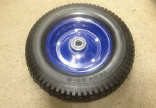 "16"" SOLID  WHEEL WITH 8"" STEEL RIM, 25mm BORE BEARINGS(Brand New)"