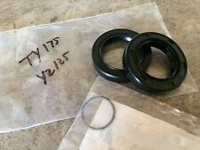 Yamaha YZ125 TY175 AT1 Engine Crank Shaft Seals 1974 - 79 TY125 Main Seal Set