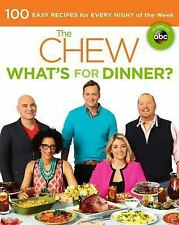 THE CHEW What's for Dinner? NEW Cookbook recipes Kitchen Counter book Daphne Oz