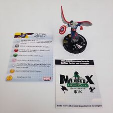 Heroclix Nick Fury, Agent of SHIELD set Captain America (Falcon) #049 Super Rare