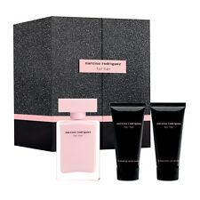 NARCISO RODRIGUEZ FOR HER SET 50ML EDP SPRAY + 50ML LATTE CORPO + 50ML GEL BAGNO