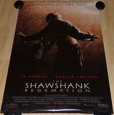 THE SHAWSHANK REDEMPTION 1992 ORIGINAL ADVANCE DS 1 SHEET MOVIE POSTER