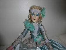 Vintage Antique Art Deco Anita Boudoir doll