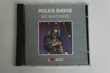 Miles Davis We Want Miles I Love Jazz, BUONO STATO (BOX 45)