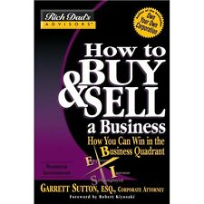 NEW Rich Dad How to Buy and Sell A Business