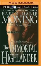 Highlander: The Immortal Highlander 6 by Karen Marie Moning (2015, MP3 CD,...