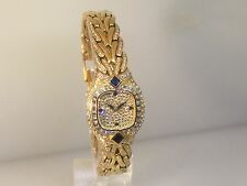 PATEK PHILLIPE LA FLAMME PAVE DIAMOND & SAPPHIRE LADIES WATCH 4808 NEW OLD STOCK
