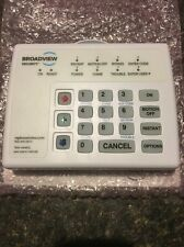 Broadview (ADT) Brinks BHS-3111 Home Security System Keypad 8-Zone LED