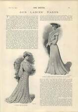 1903 Daily Telegraph Cup Bisley Dainty Spotted Muslin