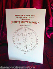 GOD'S WHITE MAGICK. Marcus Bottomley, Occult, Magic, Finbarr. Magick, Grimoire