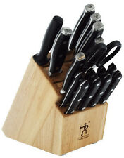 J.A. Henckels International Forged Premio 17-pc Knife Block Set 16935-017 NEW