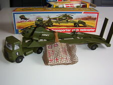 Dinky Toys AEC Artic .Transporter with Helicopter  OVP  !
