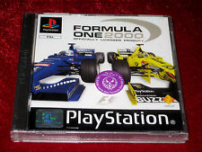 *New & Sealed* PS1 Racing Game FORMULA ONE 2000 French PAL PlayStation