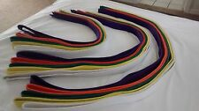 Martial Art Belts - 15 total  - Sizes 0-6        FREE SHIPPING