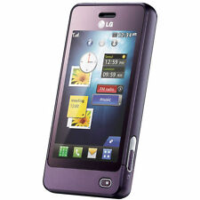 LG GD510 POP Purple  Glossy Silicone Gel Case