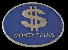Money Talks Dollar Sign Symbol Euro Currency Belt Buckle Boucle de Ceinture