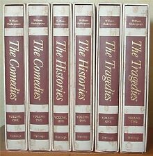 Shakespeare, Comedies, History, Tragedies 6 Volume Set, Heritage Press