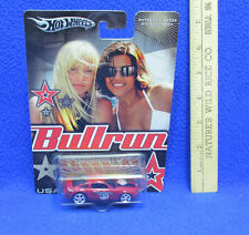 Bullrun Hot Wheels Toy Car Ford Mustang GT Red #65 USA Road Rally