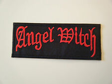 ANGEL WITCH PATCH Embroidered Iron On Sew Heavy Thrash Metal Band Logo Badge NEW